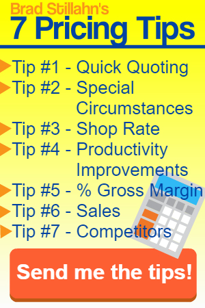 Job Shop Pricing - 7 Pricing Tips