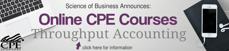 On-line CPE Throughput Accounting Courses!