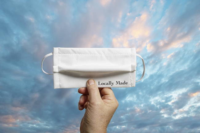 locally made face mask